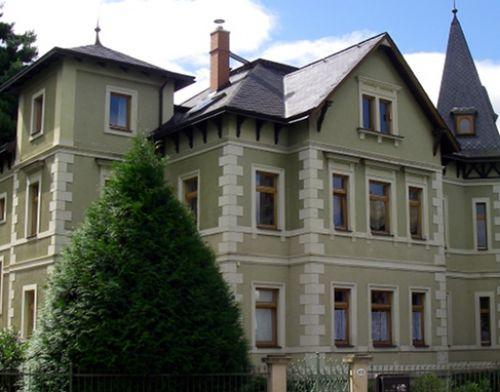 Das Institutsgebäude auf der Lungkwitzer Straße 12.